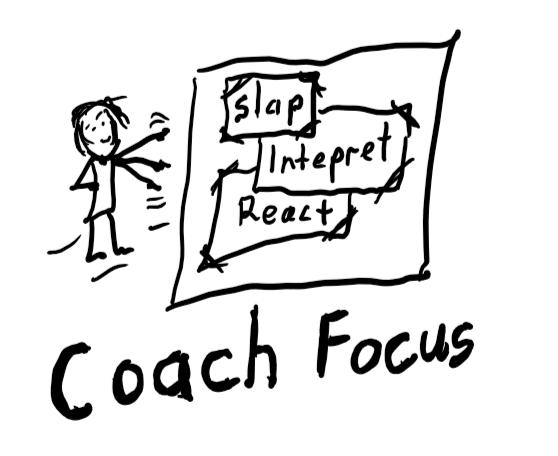 coach focus when slapped