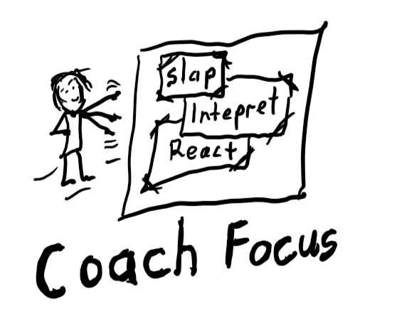 coach focus when slapped