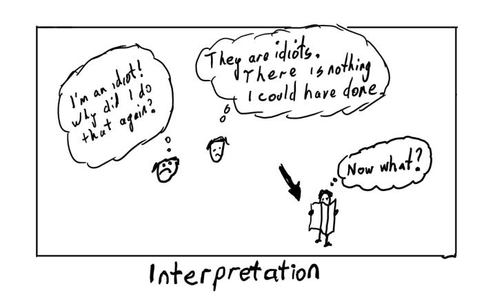 coach slap interpretation