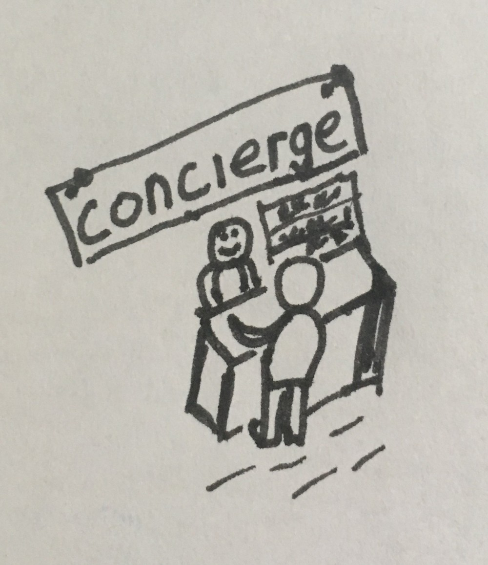 PM as concierge