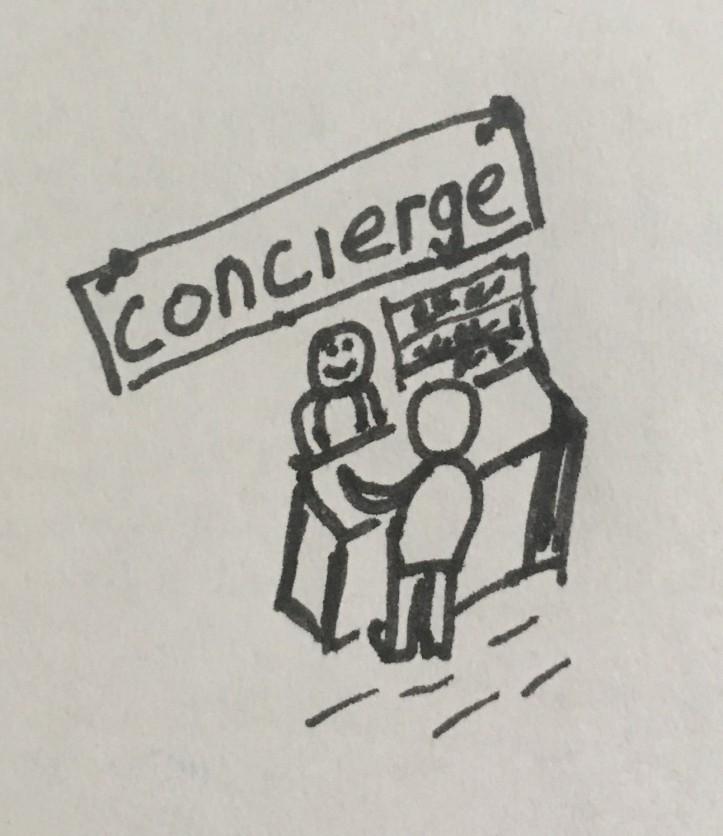 PM as concierge
